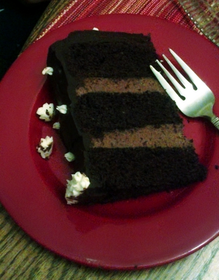 Chocolate Blissout Cake