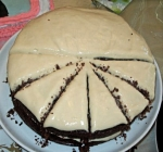 Chocolate Stout Cake with Bailey's Frosting